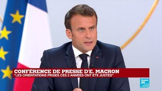 REPLAY - Grand Oral d'Emmanuel MACRON