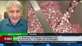 Plan social contesté de la Banque de France : «La perspective, c'est supprimer 100 emplois, pas 131»