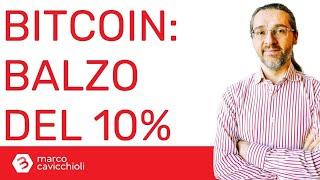 BITCOIN Balzo in alto di bitcoin (come l'anno scorso), forse grazie ad Amazon