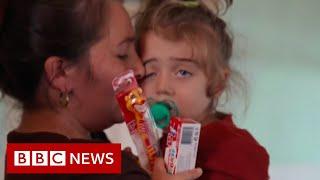 Nagorno-Karabakh: The three-year-old orphaned by war - BBC News