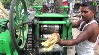 热浪袭人气温直逼50度,印度狂喝甘蔗汁避暑