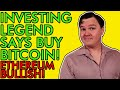 BUY BITCOIN NOW IF YOU MISSED APPLE & GOOGLE EARLY SAYS LEGENDARY INVESTOR! [Don't Miss Out]