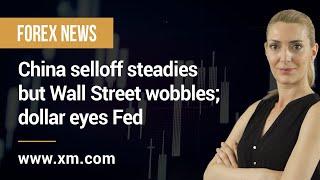DOW JONES INDUSTRIAL AVERAGE Forex News: 28/07/2021 - China selloff steadies but Wall Street wobbles; dollar eyes Fed