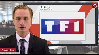 TF1 Bourse - TF1, en hausse malgré deux dégradations - IG 02.05.2019