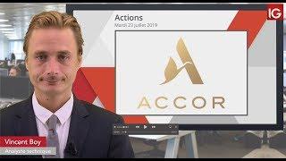 ACCOR Bourse - ACCOR, soutien d'un intermédiaire - IG 23.07.2019