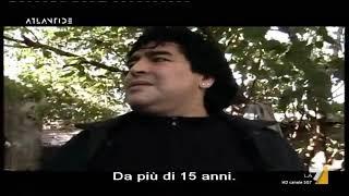 """Maradona by Kusturica, """"Ho due sogni: il primo è giocare un Mondiale, il secondo è vincerlo"""""""