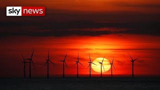 Climate crisis: UK pledges to cut emissions by two thirds by 2030