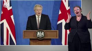 """UK, Johnson: """"Dal 17 maggio parenti e amici potranno scegliere se mantenere il distanziamento ..."""