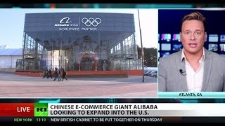 ALIBABA GROUP HOLDING Chinese tech giant Alibaba expands to US