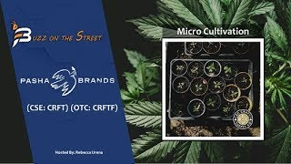 "HARVEST ""Buzz on the Street"" Show: Pasha Brands (CSE: CRFT) (OTC: CRFTF) First Micro-Cultivator Harvest"