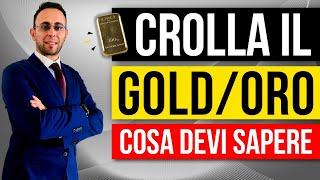 GOLD - USD Crolla il gold: cosa devi sapere sull'oro. Analisi tecnica e fondamentale