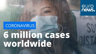 Coronavirus latest: More than six million COVID-19 cases confirmed worldwide