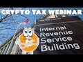 Tax Webinar with Crypto Tax Expert Andrew Perlin, CPA