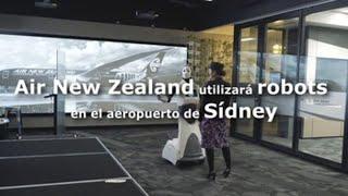 NEW ZEALAND DOLLAR INDEX Air New Zealand utilizará robots en el aeropuerto de Sídney