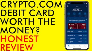 BITCOIN CRYPTO.COM BITCOIN DEBIT CARD IS IT WORTH THE MONEY? HONEST REVIEW 2020