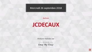JC DECAUX SA. JCDECAUX : sortie de drapeau