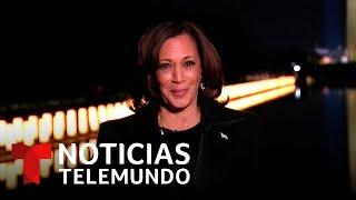 Kamala Harris honra el coraje de las mujeres | Noticias Telemundo