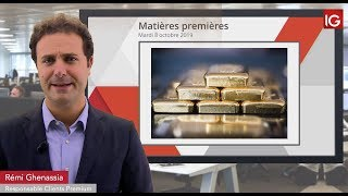 GOLD - USD Bourse - GOLD, la consolidation se poursuit - IG 08.10.2019
