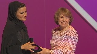 COTTON Premio WISE 2014 alla britannica Ann Cotton - learning world