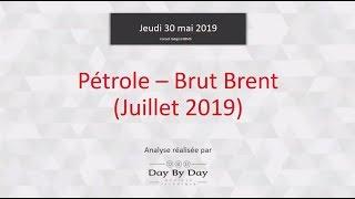 BRENT CRUDE OIL Idée de trading : achat Pétrole - Brut Brent [échéance juillet 2019]
