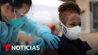Temen que el interés por la vacunación siga bajando | Noticias Telemundo