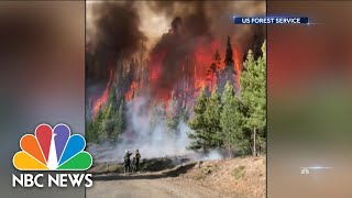 Nearly 190,000 Acres Burned in Colorado's East Troublesome Fire | NBC Nightly News