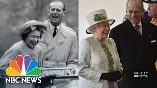 PHILIPS KON Queen Elizabeth II And Prince Philip's Love Story | NBC Nightly News