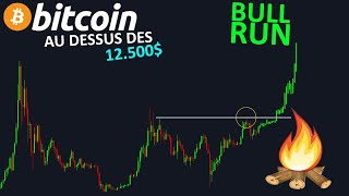 BITCOIN BITCOIN LE BULL RUN COMMENCE SI ON CASSE LES 12.500$ !? btc analyse technique crypto monnaie