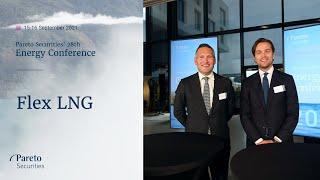 Flex LNG / Pareto Securities' 28th Energy Conference