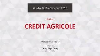 CREDIT AGRICOLE Action Crédit Agricole : le Brexit pèse sur le secteur bancaire - Flash Analyse IG 16.11.2018