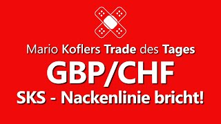 GBP/CHF Trade des Tages - Gutes CRV im GBP/CHF