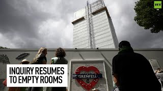 Grenfell inquiry resumes...up next, the builders!
