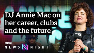 Radio 1 DJ Annie Mac on quitting, streaming and the future of the music industry - BBC Newsnight