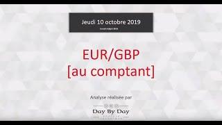 EUR/GBP achat EUR/GBP (au comptant) : Idée de trading 10.10.2019