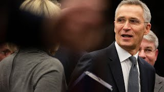 NATO's Jens Stoltenberg makes a statement after a meeting addressing  the situation in Syria | LIVE