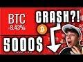 Jetzt CRASH auf 5000$!? Kryptowährungen deutsch
