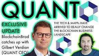 Quant Network Update  | BlockchainBrad | Crypto CEO Interview | Crypto news | Blockchain Business