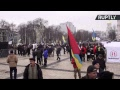 Ukraine : des manifestants demandent la démission de Petro Porochenko à Kiev