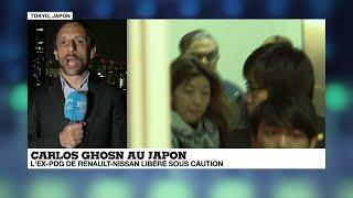 RENAULT L'ex-PDG de Renault-Nissan Carlos Ghosn libéré sous caution