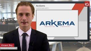 ARKEMA Bourse - ARKEMA, baisse d'objectif de cours d'un intermédiaire - IG 04.03.2019