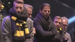 BORUSSIA DORTMUND El Borussia Dortmund celebra la Navidad