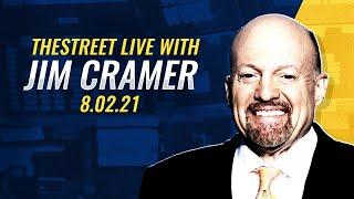 Infrastructure, Square, Zoom, August Trading: Jim Cramer's Stock Market Breakdown - August 2