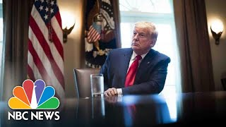 Watch: Trump Holds Roundtable With Industry Executives on Reopening | NBC News