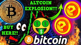 BITCOIN BITCOIN $15,000,000 SELL WALL!!! ALTCOINS READY to EXPLODE! 2 PICKS for HUGE GAINS!