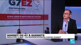 G7 à Biarritz et contre-sommet des altermondialistes à Hendaye