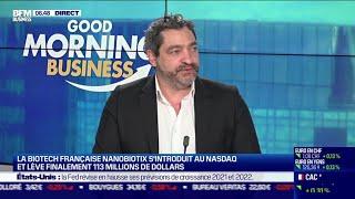 NANOBIOTIX Laurent Levy (Nanobiotix) : La Biotech française Nanobiotix s'introduit au Nasdaq