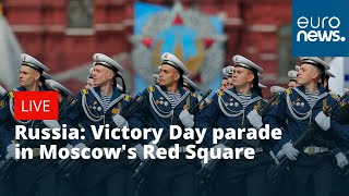 Russia: Victory Day parade in Moscow's Red Square | LIVE