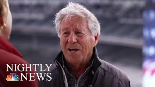 Behind The Wheel With Mario Andretti 50 Years After His Indy 500 Win | NBC Nightly News