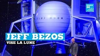 """AMAZON.COM INC. Le patron d'Amazon dévoile le projet """"Blue Moon"""""""