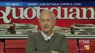 """Rivolte sociali, Marco Travaglio: """"Me la sono presa con chi auspicava gazzarre di piazza come i ..."""